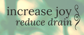 increase joy reduce drain - livingbluprints